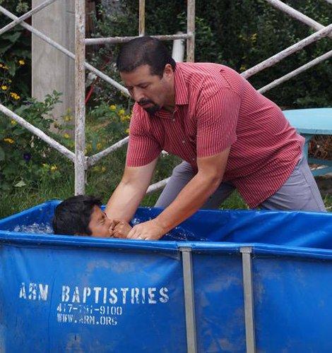 adrian baptizing