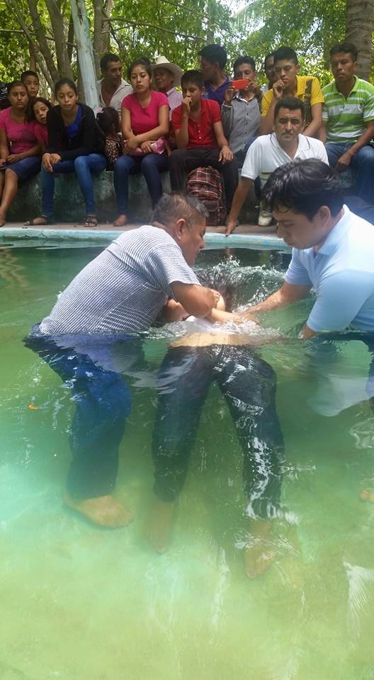 Aldo Baptizing
