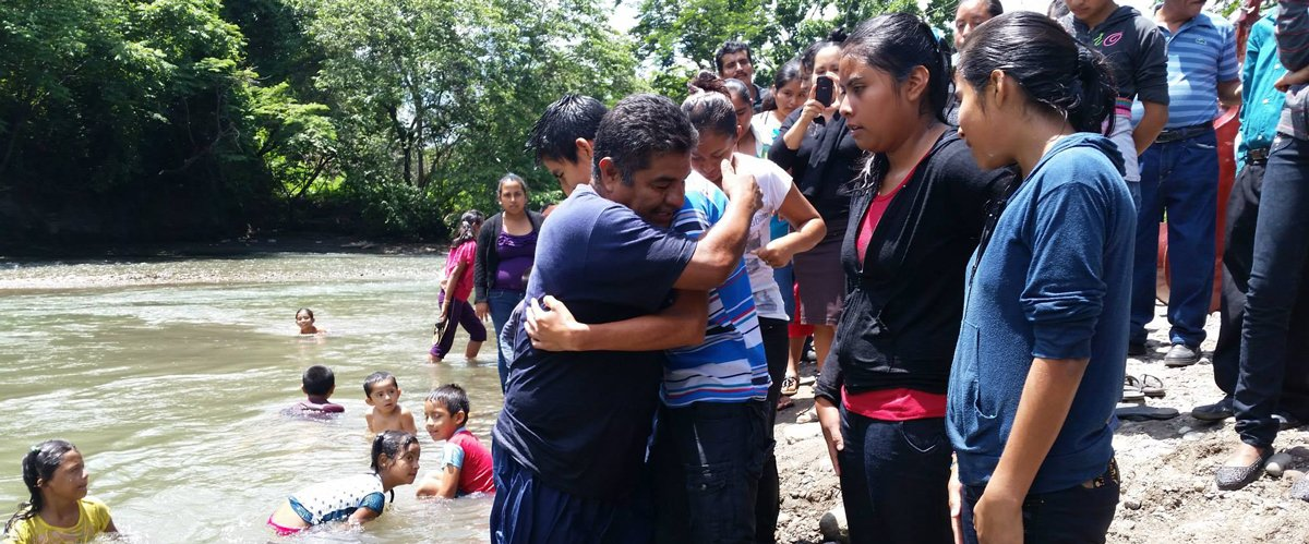 Chiapas River Baptism