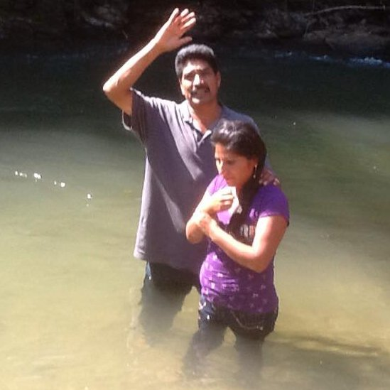 Tacho Baptizing